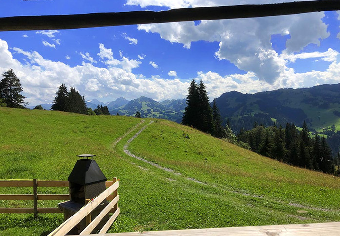 Almhütte, Berghütte Lörtschersweide www.