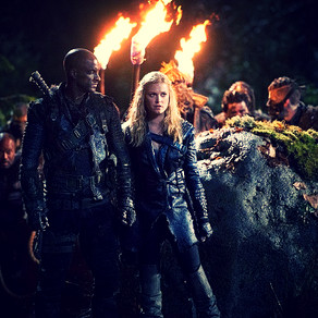 """REVIEW   The 100 - Episode 2.15 - """"Blood Must Have Blood - Part 1"""""""