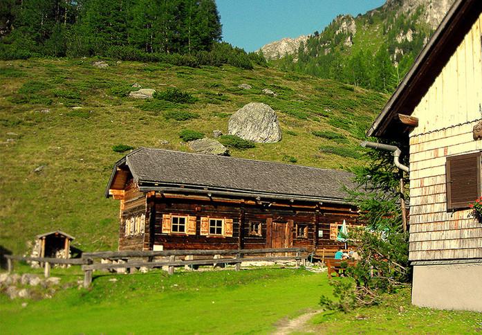 Stoanerhütte Alphütte www.berghuetten-mi