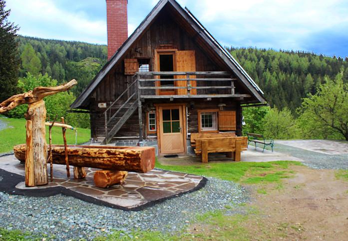 Almhütte Jagerhütte Österreich www.bergh
