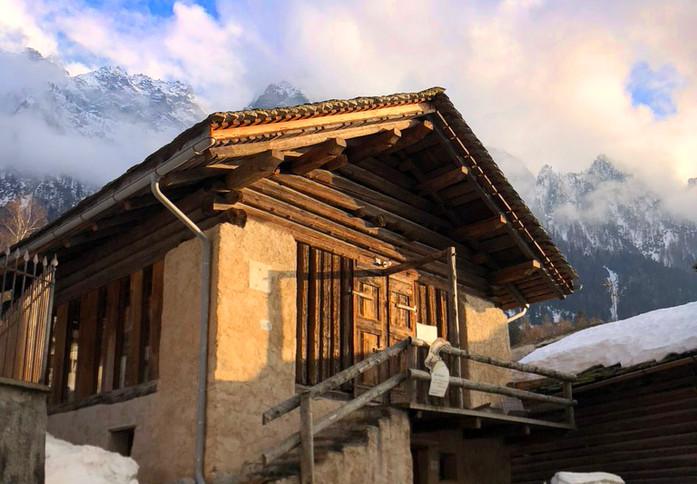 Berghütte Barn1686