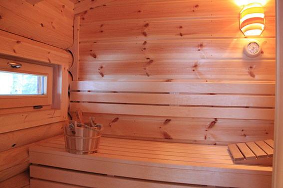 Hütte am Wald