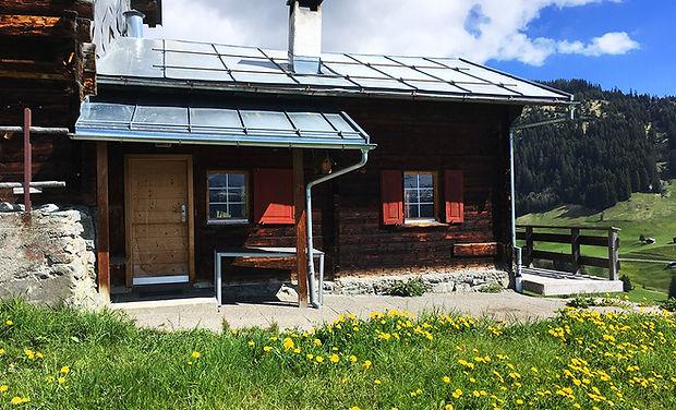 www.berghuetten-mieten.ch Maiensäss Auss