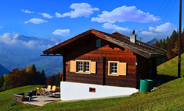 Maiensäss Plausi www.berghütten-mieten.c
