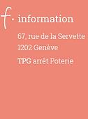 Logo F information