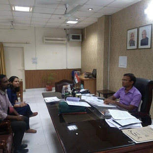 Monthly Update Meeting with DC Mr. Panka