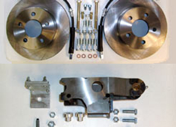 Master Cylinder Conversion with Master Disc Kit