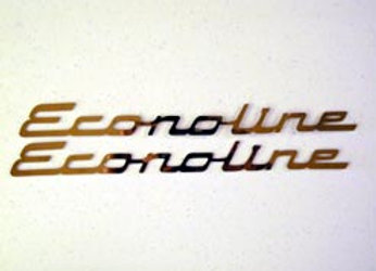 Stainless Steel Econline Emblem (small)