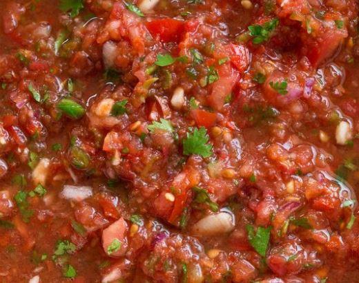 Raw Tomato Salsa