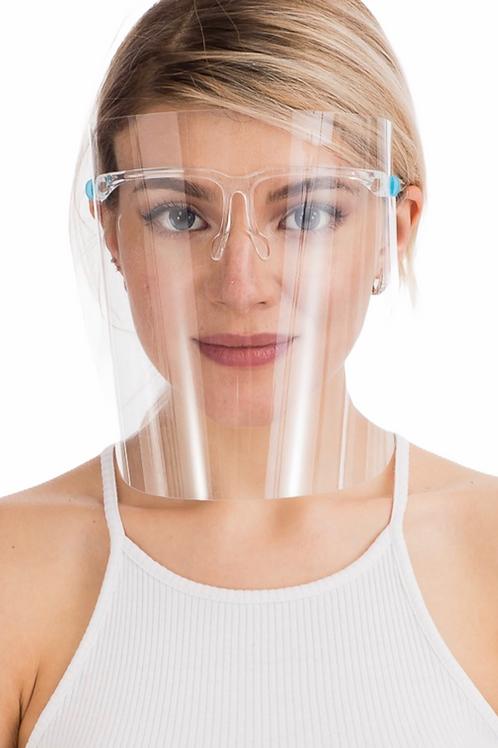 Anti-Fog Anti-Splatter Full Face Shield -2pc Pack