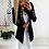 Thumbnail: Long Cardigan Women Sweater  Bat Sleeve Knitted Sweater / Jacket Loose Sweaters