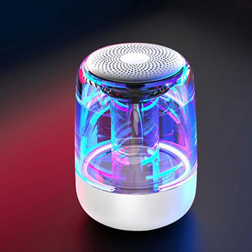 Portable Bluetooth Speaker Powerful With Variable Color LED Light