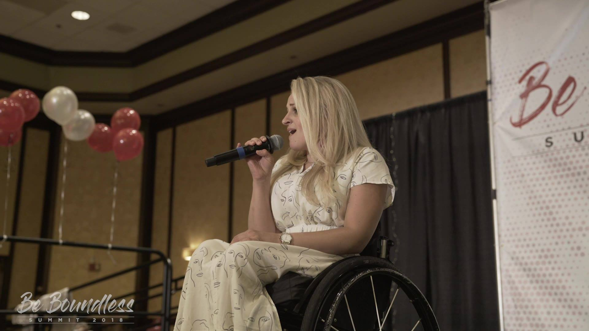 WOW!! Ali Stroker's performance at the Be Boundless Summit!! #beboundless18 OG Rollette