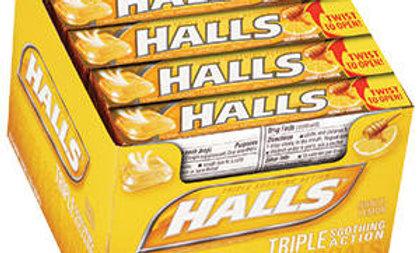 Halls - Honey Lemon