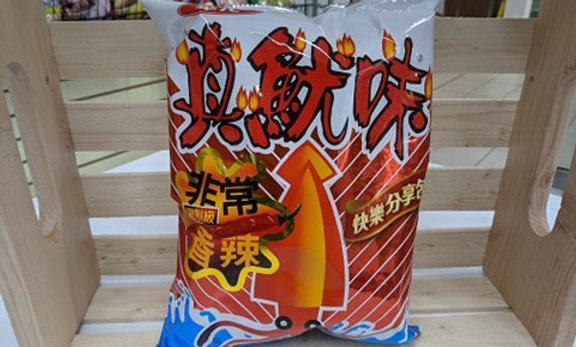 Hwa Yuan Squid Cracker - Spicy