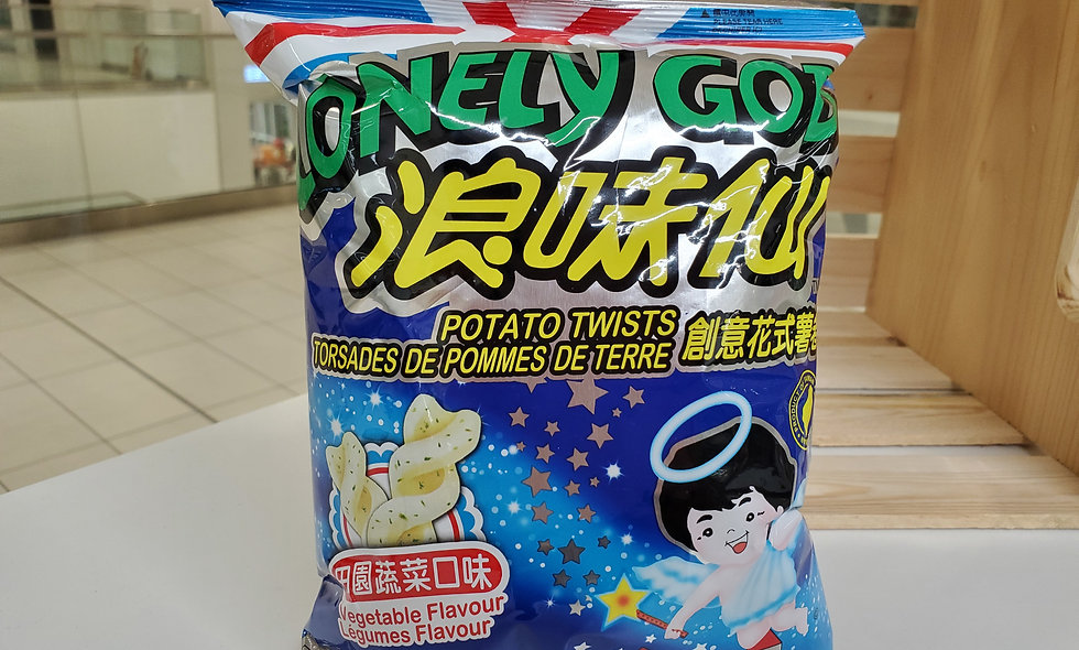 Want Want Lonely God Chips - Vegetable
