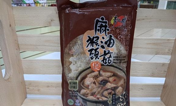 Vegan Seasame Oil Mushroom