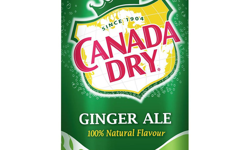 Ginger Ale Can