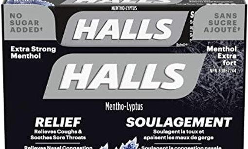 Halls - Methol