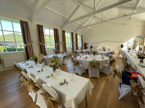 The Main Hall - Dressed for a wedding