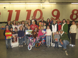 Volunteering at Toys for Tots