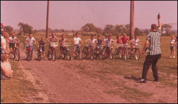 60s Jaycees Kids Day bike races
