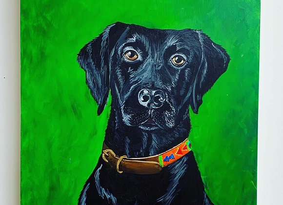 Custom Acrylic Pet Portrait