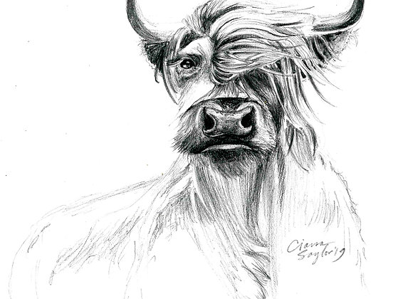 "Spirit Animal Print 5x7"""