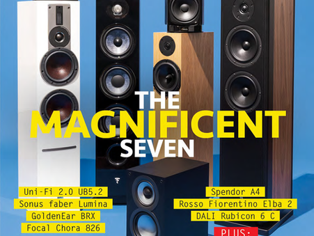 The Elba 2 gets a rave review by The Absolute Sound's Robert Harley
