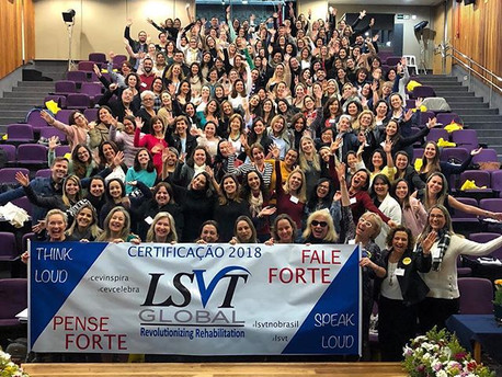 LSVT Global: Certificação no Método Lee Silverman