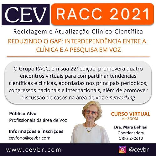 RACC 2021 - Reciclagem e Atualização Clínico-Científica