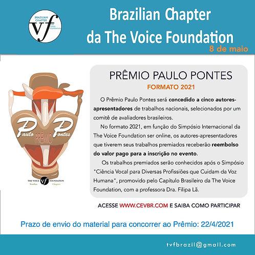 PRÊMIO PAULO PONTES 2021