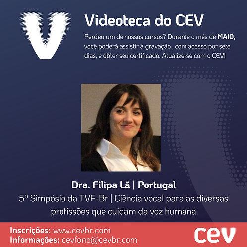 Videoteca do CEV | Dra. Filipa Lã