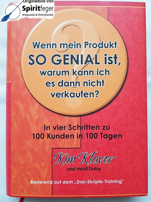 Buch: Wenn mein Produkt so genial ist, ...