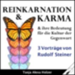 Cover Reinkarnation Karma Steiner Wortfe