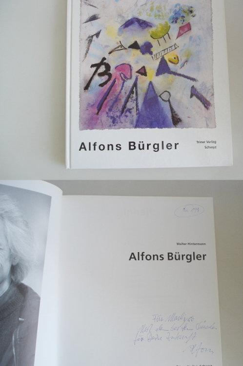Alfons Bürgler - signiert