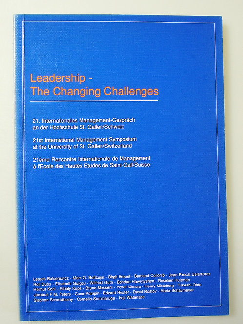 Leadership - The Changing Challenges
