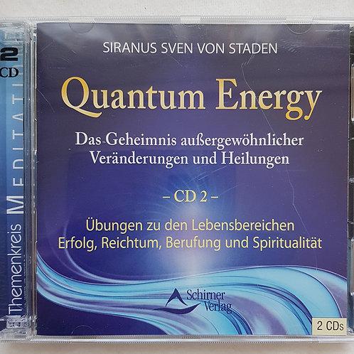 Quantum Energy CD 2 - Siranus Sven von Staden (2 CDs)
