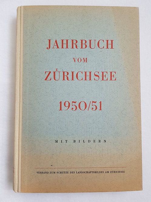Jahrbuch vom Zürichsee 1950/51