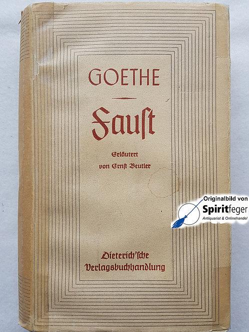 1940: Goethe - Faust und Urfaust