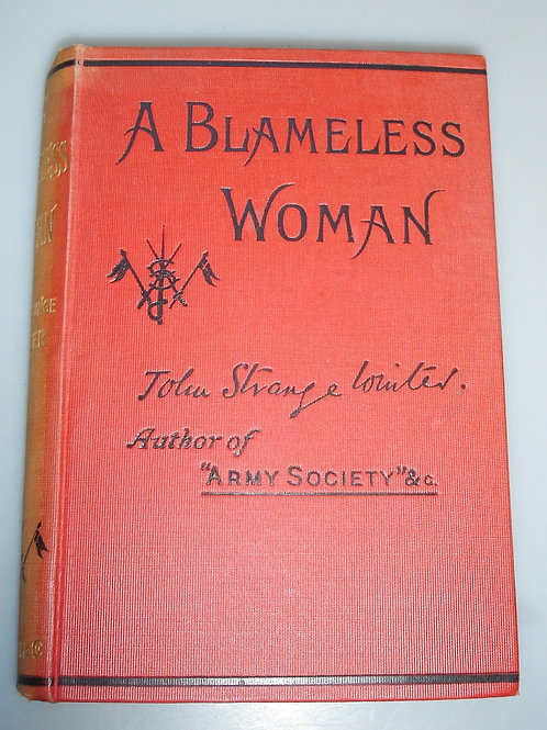 A Blameless Woman (in one Volume)