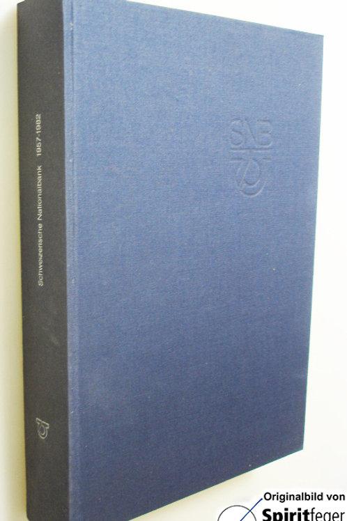 Schweizer Nationalbank 1957-1982