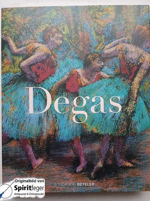 Edgar Degas - Das Spätwerk - Bildband von Martin Schwander (Hrsg.)