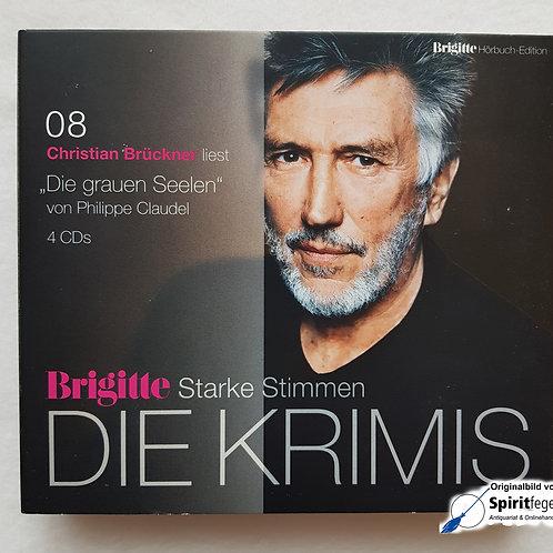 Die grauen Seelen - von Philippe Claudel - CD-Hörbuch