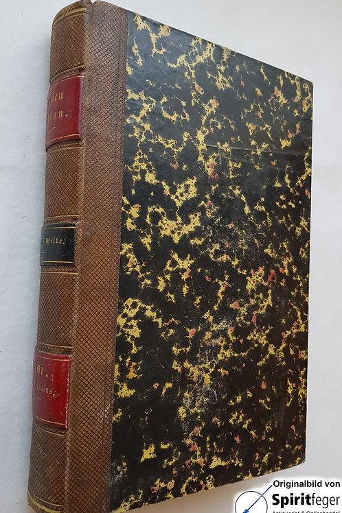 1852; Kirchen-Lexikon oder Encyklopädie der katholischen Theologie - Band 9