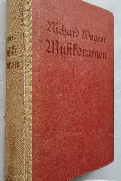 1933: Richard Wagner - Musikdramen - Ring der Nibelungen