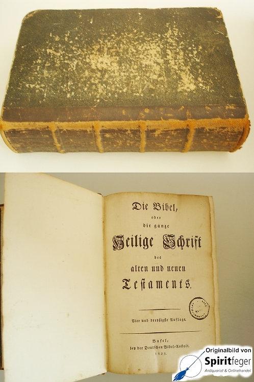 Die Bibel oder die ganze Heilige Schrift des alten und neuen Testaments (1829)