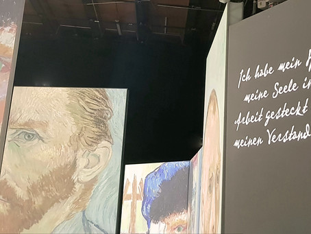 Versunken in van Goghs Farben und Gedanken