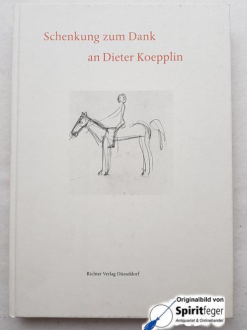 Schenkung zum Dank an Dieter Koepplin