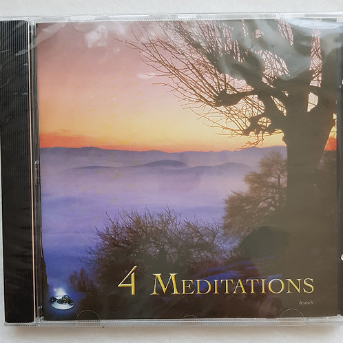 4 Meditations - CD - Aditya, Sri Chinmoy
